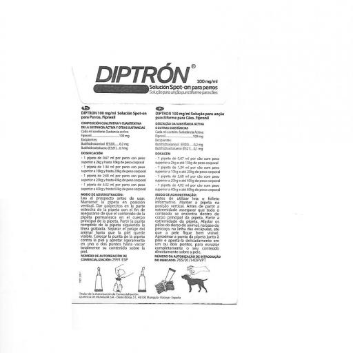 Pipeta para perros Diptrón  [1]