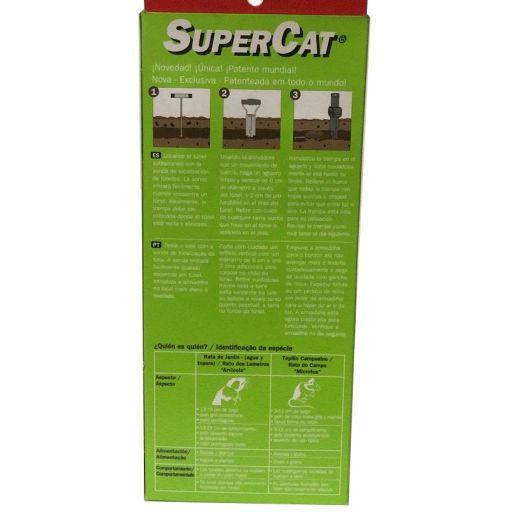 Trampa para ratas de jardin y topillo Supercat [2]