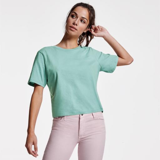 Camiseta Dominica azul lavado [3]