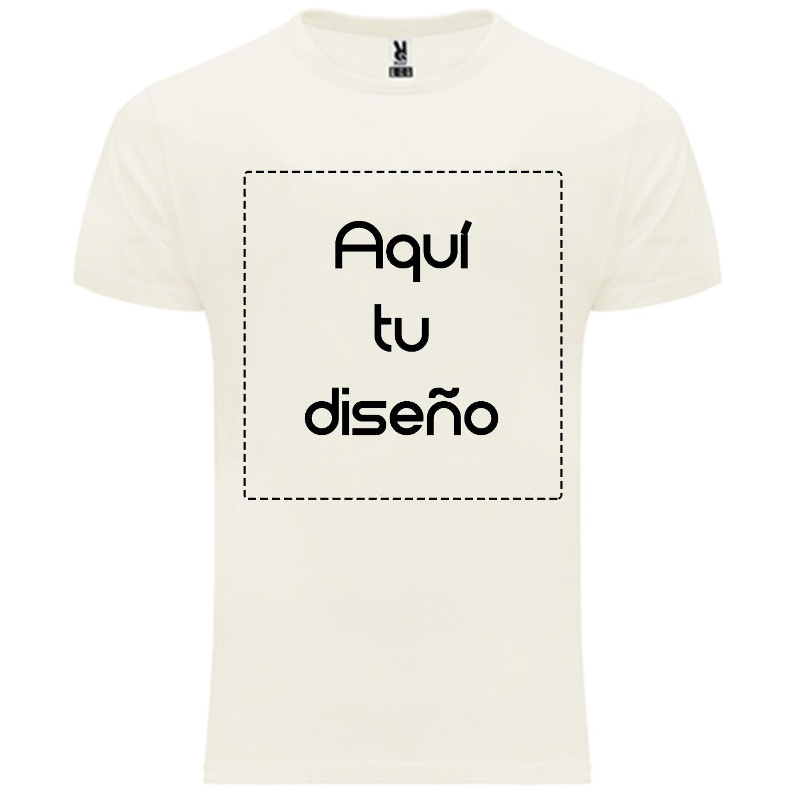 Camiseta orgánica hombre