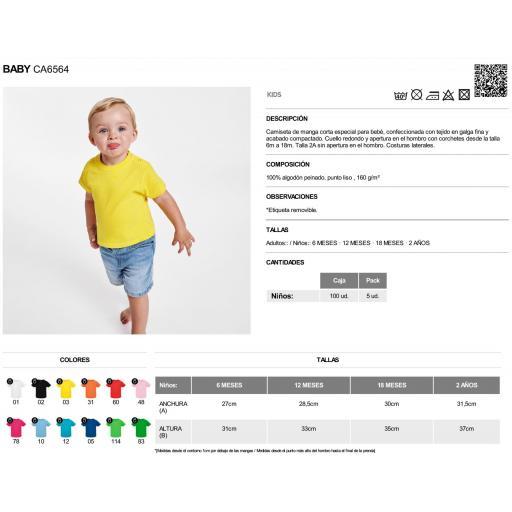Camiseta negra bebé [2]