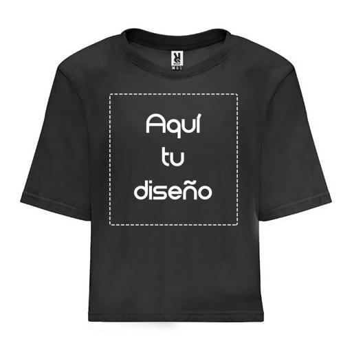 Camiseta Dominica negra