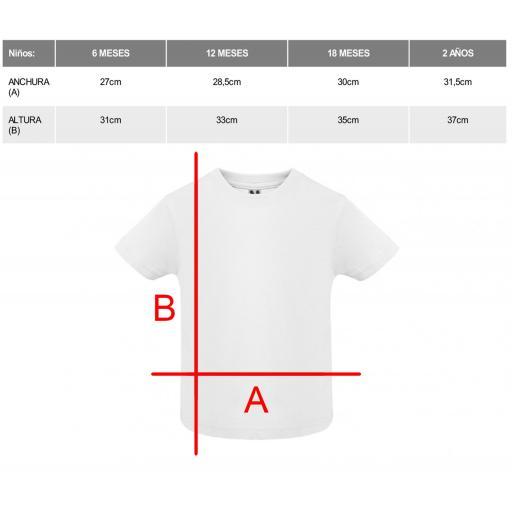 Camiseta blanca bebé [1]