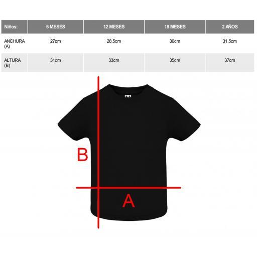 Camiseta negra bebé [1]
