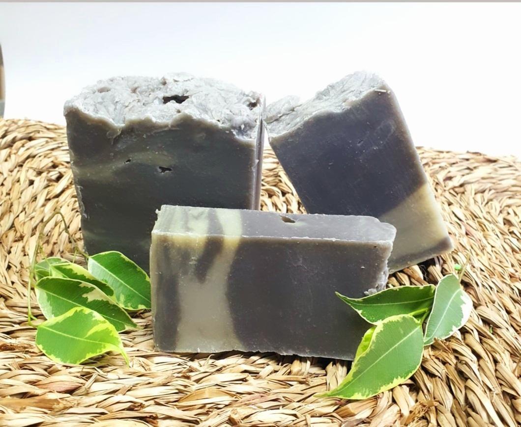 Jabón artesano barros del mar muerto (2 piezas)