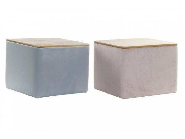 Caja bambú con tapa