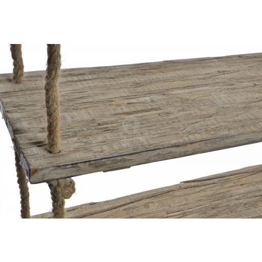 Estanteria madera y cuerda colgar [1]