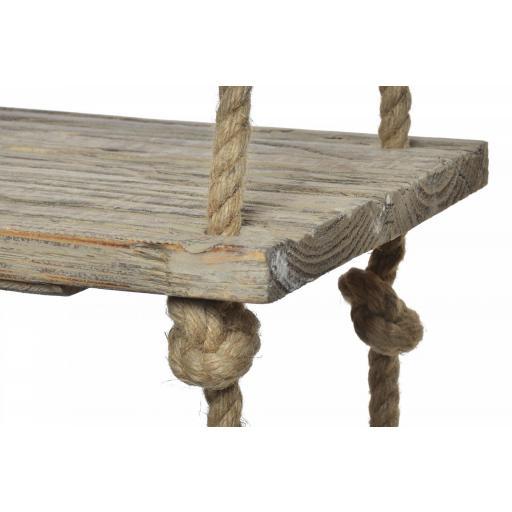 Estanteria madera y cuerda colgar [2]