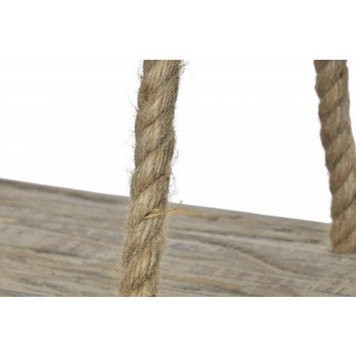 Estanteria madera y cuerda colgar [3]