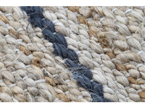 Alfombra jute-algodón natural [1]