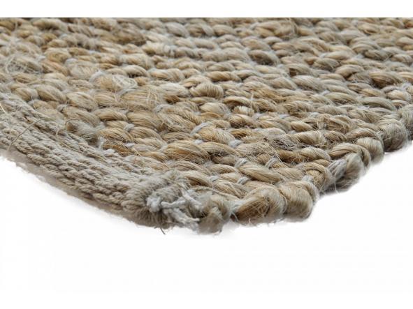Alfombra jute-algodón natural [2]