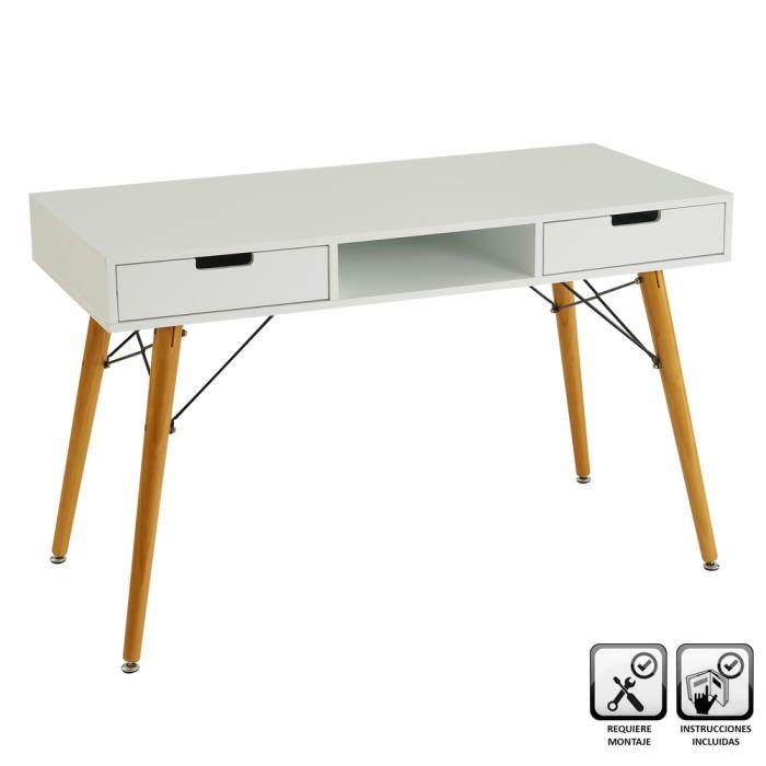 Consola/ escritorio blanco