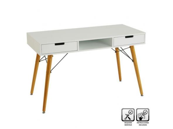 Consola/ escritorio blanco [0]