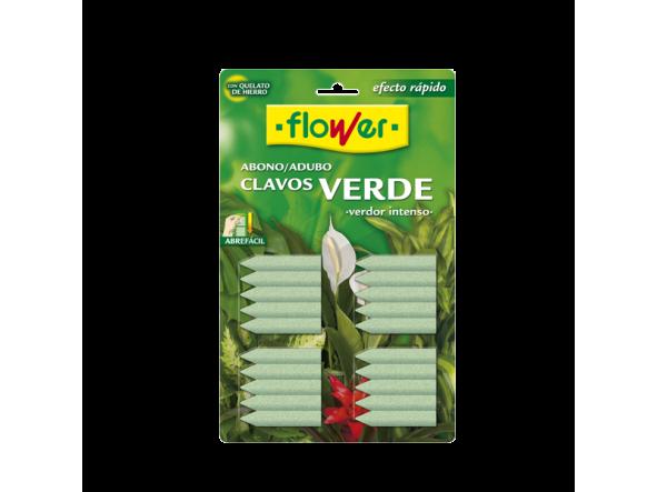 Clavos fertilizante plantas verdes