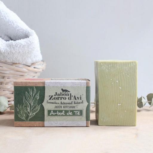 Jabón sólido Árbol del té [1]