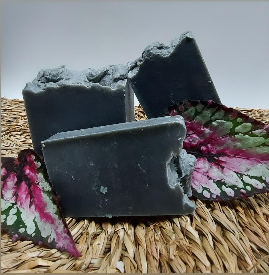 Jabón artesano piedra Pómez exfoliante  (x2 piezas)