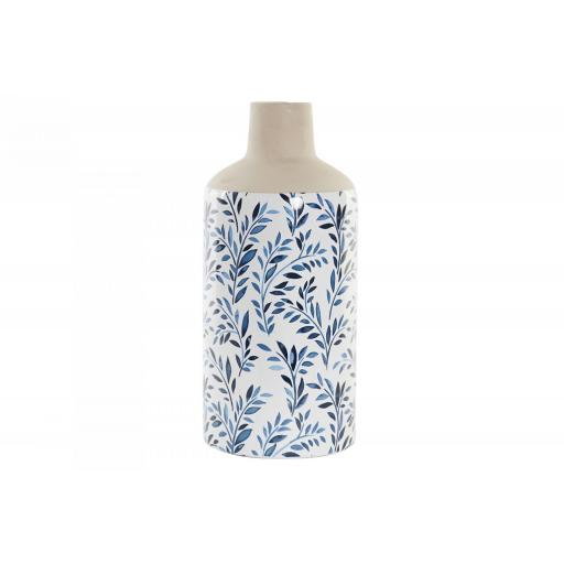 Jarrón porcelana hojas [0]