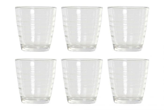 Set 6 vasos cristal 250 ml
