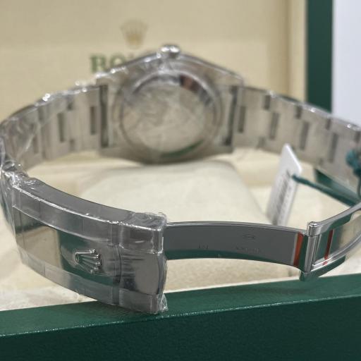 Rolex Datejust acero números Romanos  Bisel oro Blanco 18K Tarjeta Nueva  ref 116234. [3]