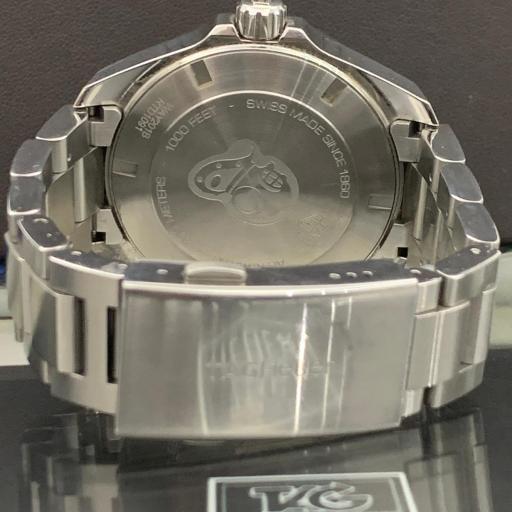 TAG HEUER -  Aquaracer 300M Calibrar 5 cerámica Esfera azul ocasión.  [3]