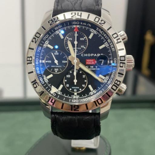 Chopard Mille Miglia GMT Reloj cronógrafo automático de acero inoxidable para hombre Ref.8992