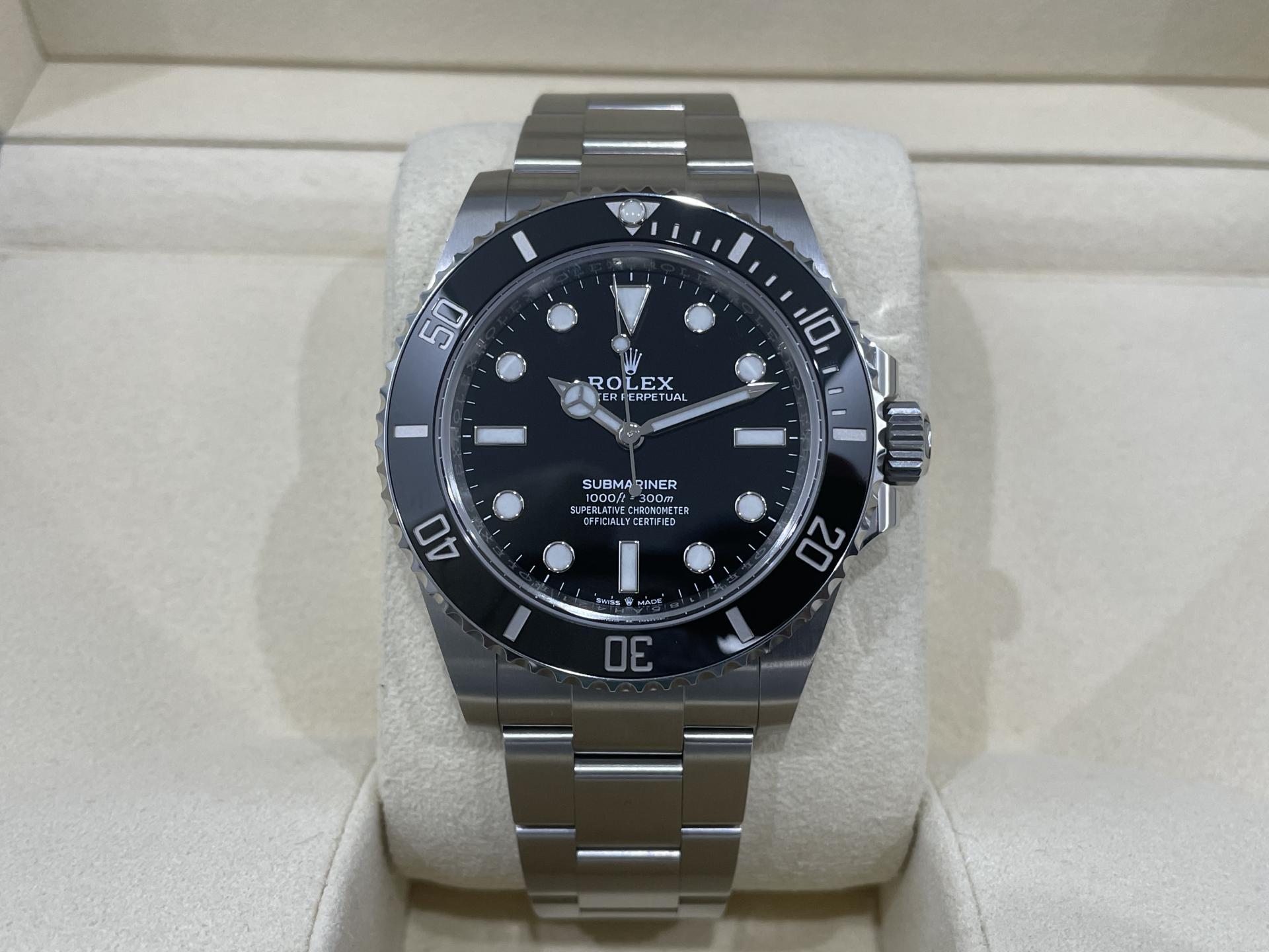 Rolex Submariner No date 124060 41mm Excelente Estado 2020.