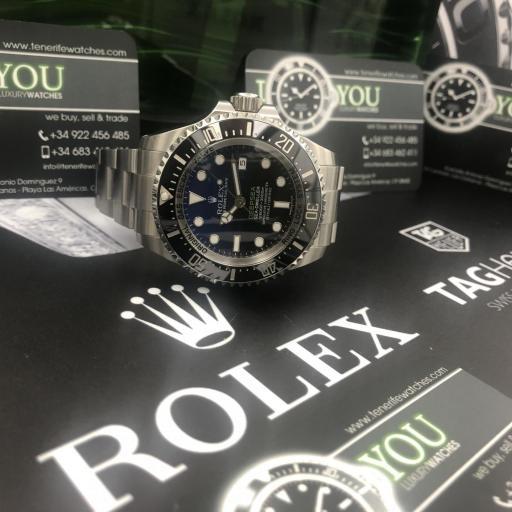 Rolex Deepsea esfera D‑blue 2015 ! Oportunidad! [2]