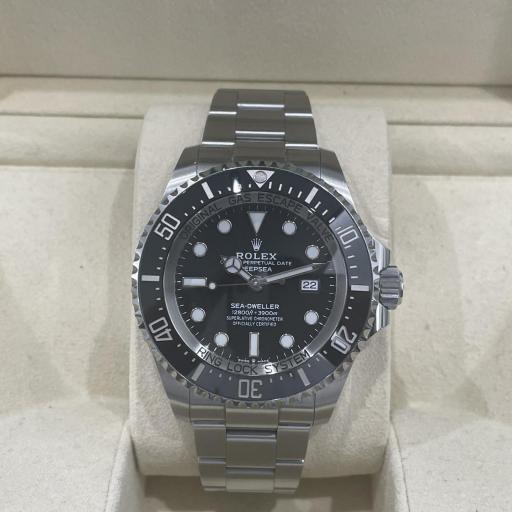 Rolex  Sea-Dweller Deepsea Esfera black. [1]
