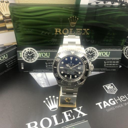 Rolex Deepsea esfera D‑blue 2015 ! Oportunidad! [1]