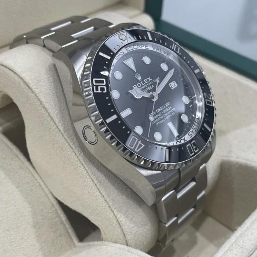 Rolex  Sea-Dweller Deepsea Esfera black. [3]