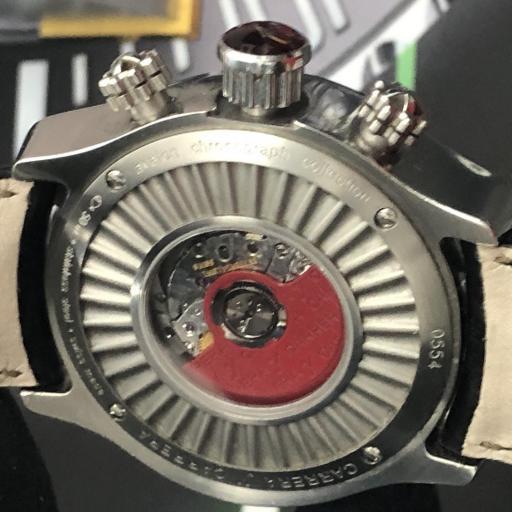 Carrera & carrera  Colección Avalon 40mm  automatico Negro. [3]