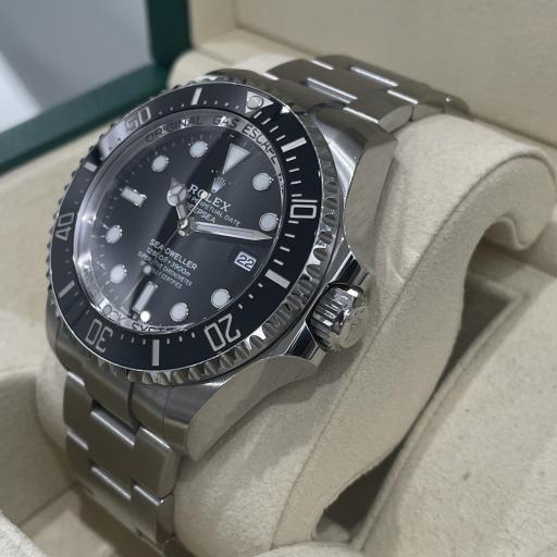 Rolex  Sea-Dweller Deepsea Esfera black. [2]
