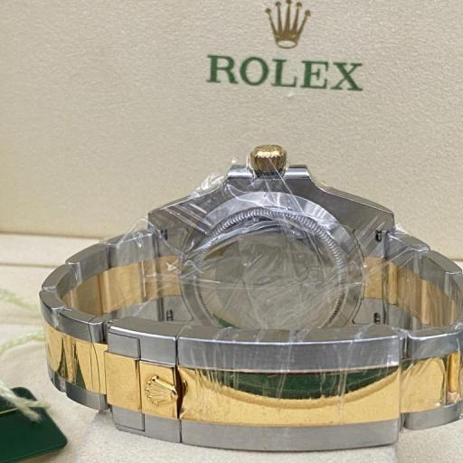 Rolex submariner date Cerámica  acero oro dial y Esfera Negra   116613LN 2013 . [1]