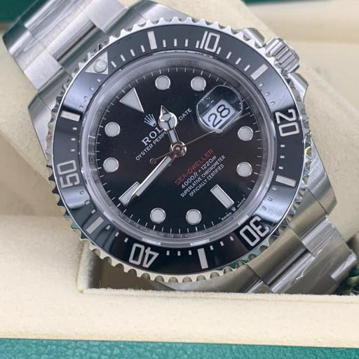 Rolex Oyster Perpetual Sea-Dweller red letter 43mm Nuevo 2021 con pegatinas ref 126600