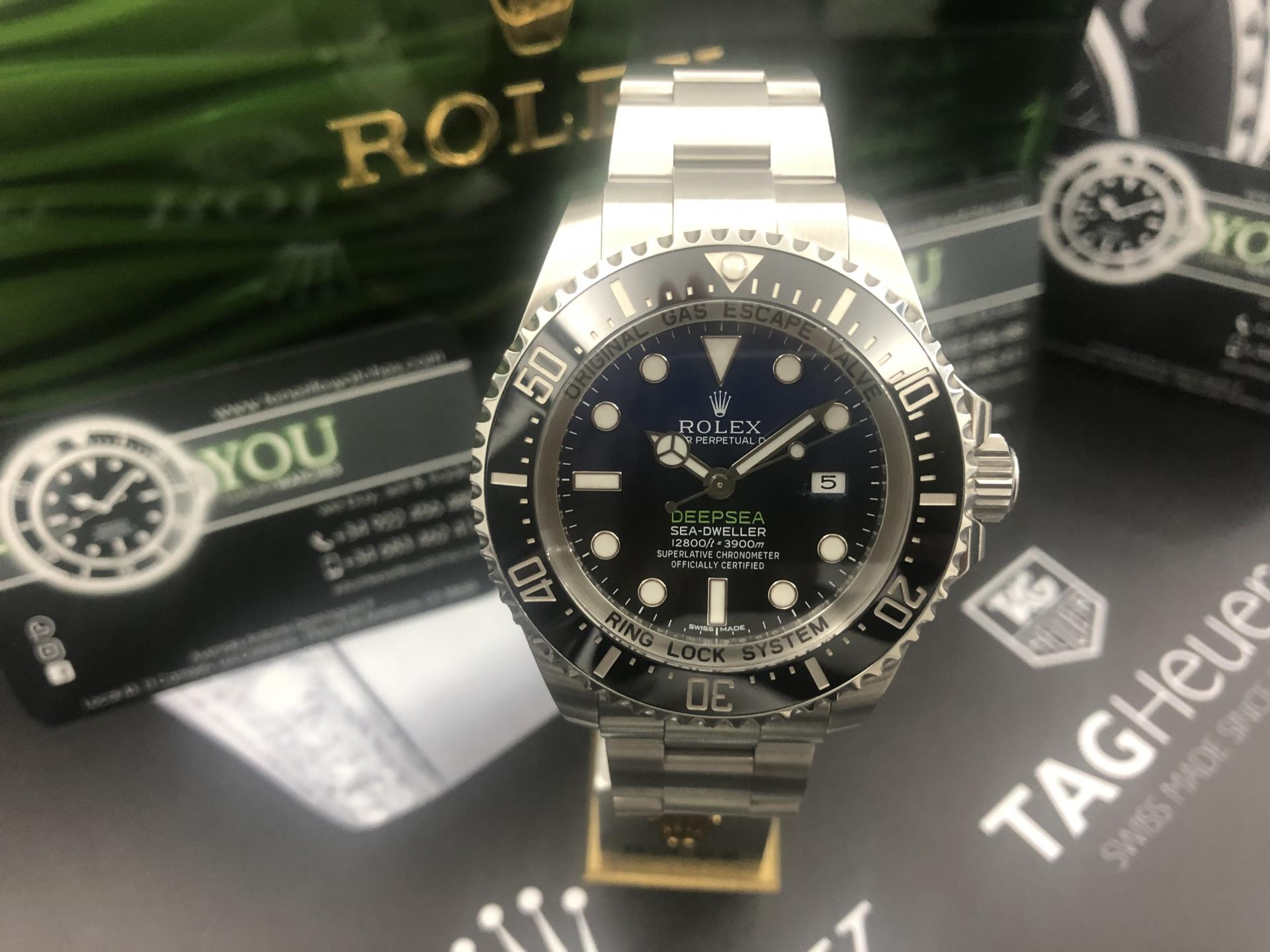 Rolex Deepsea esfera D‑blue 2015 ! Oportunidad!