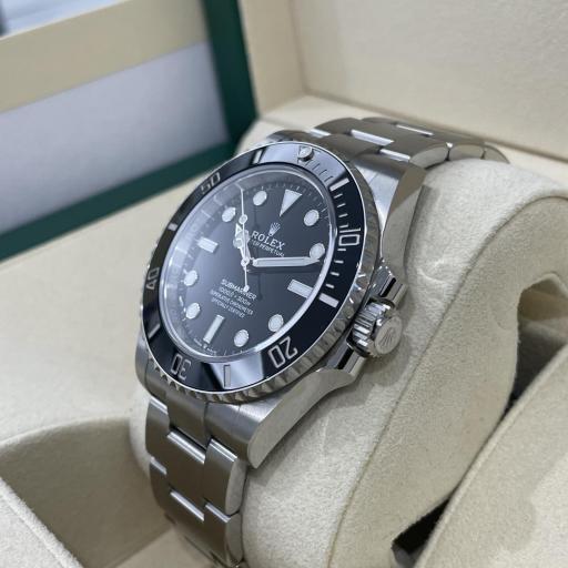 Rolex Submariner No date 124060 41mm Excelente Estado 2020. [1]