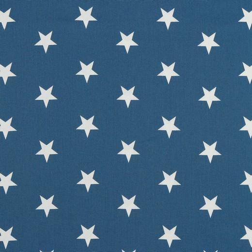 Popelin Blue Stars