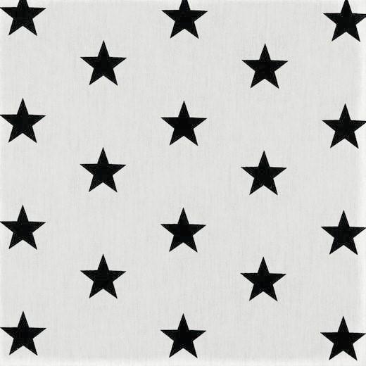 Popelin Black Stars
