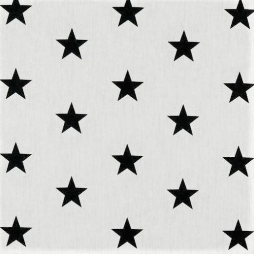 Popelin Black Stars [0]