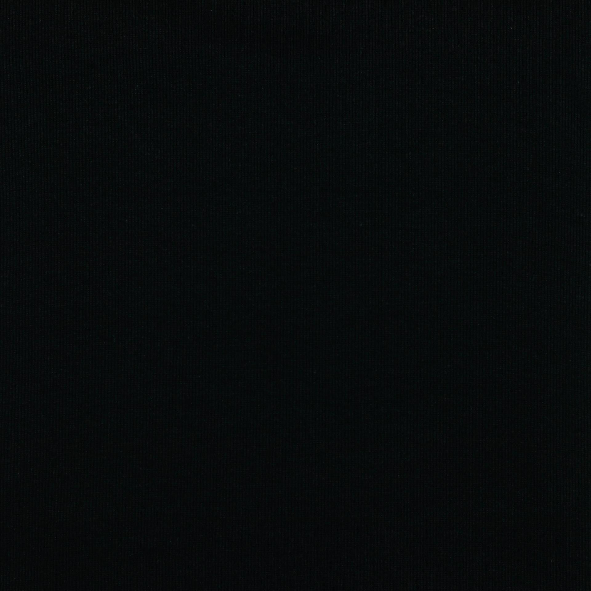 Tela de Puño Organico Tubular - Negra