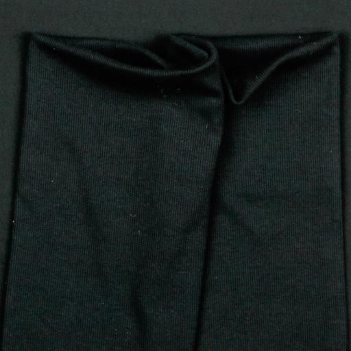 Tela de Puño Organico Tubular - Negra [1]
