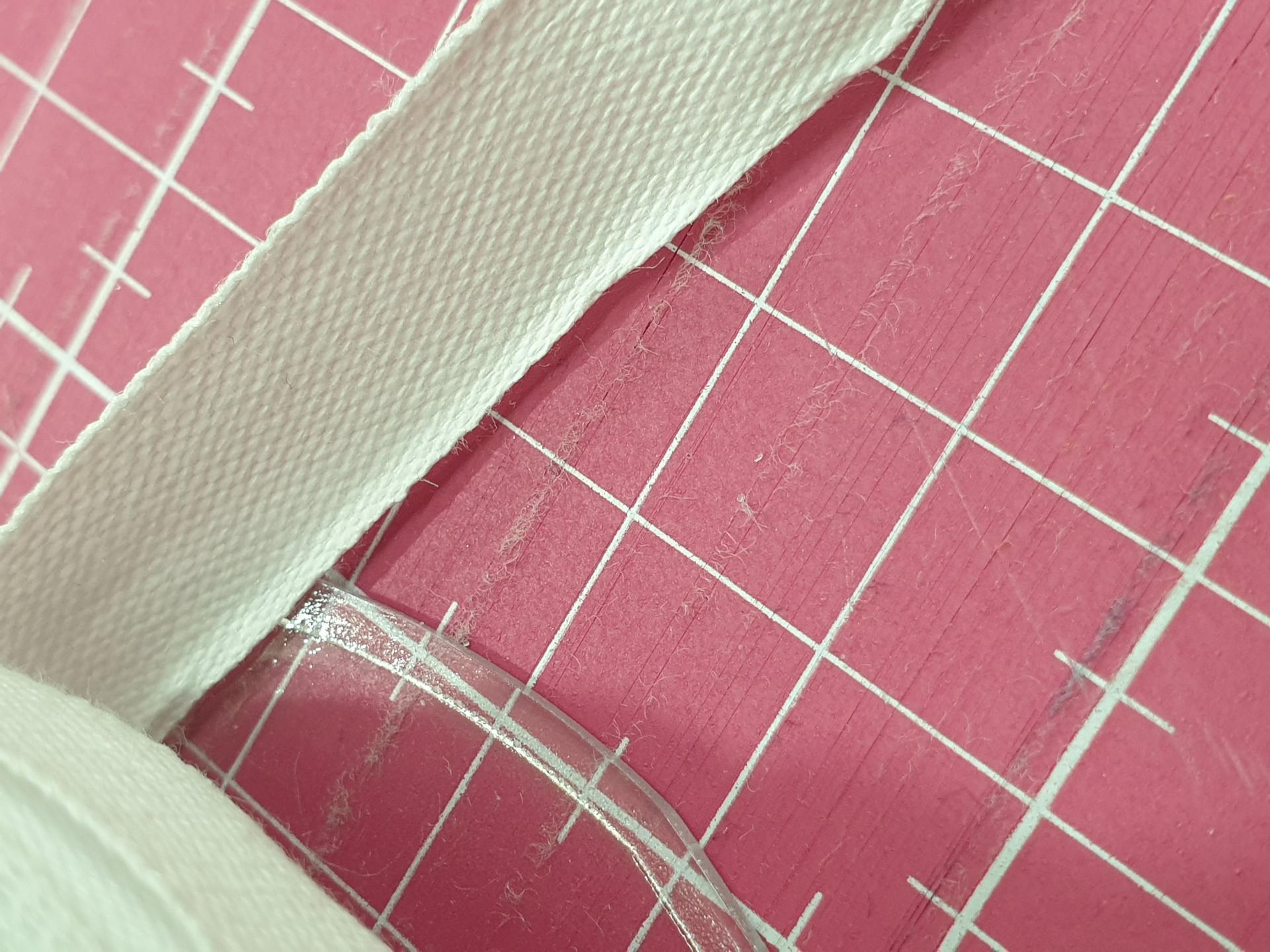 Veta de algodon 5mm Blanca