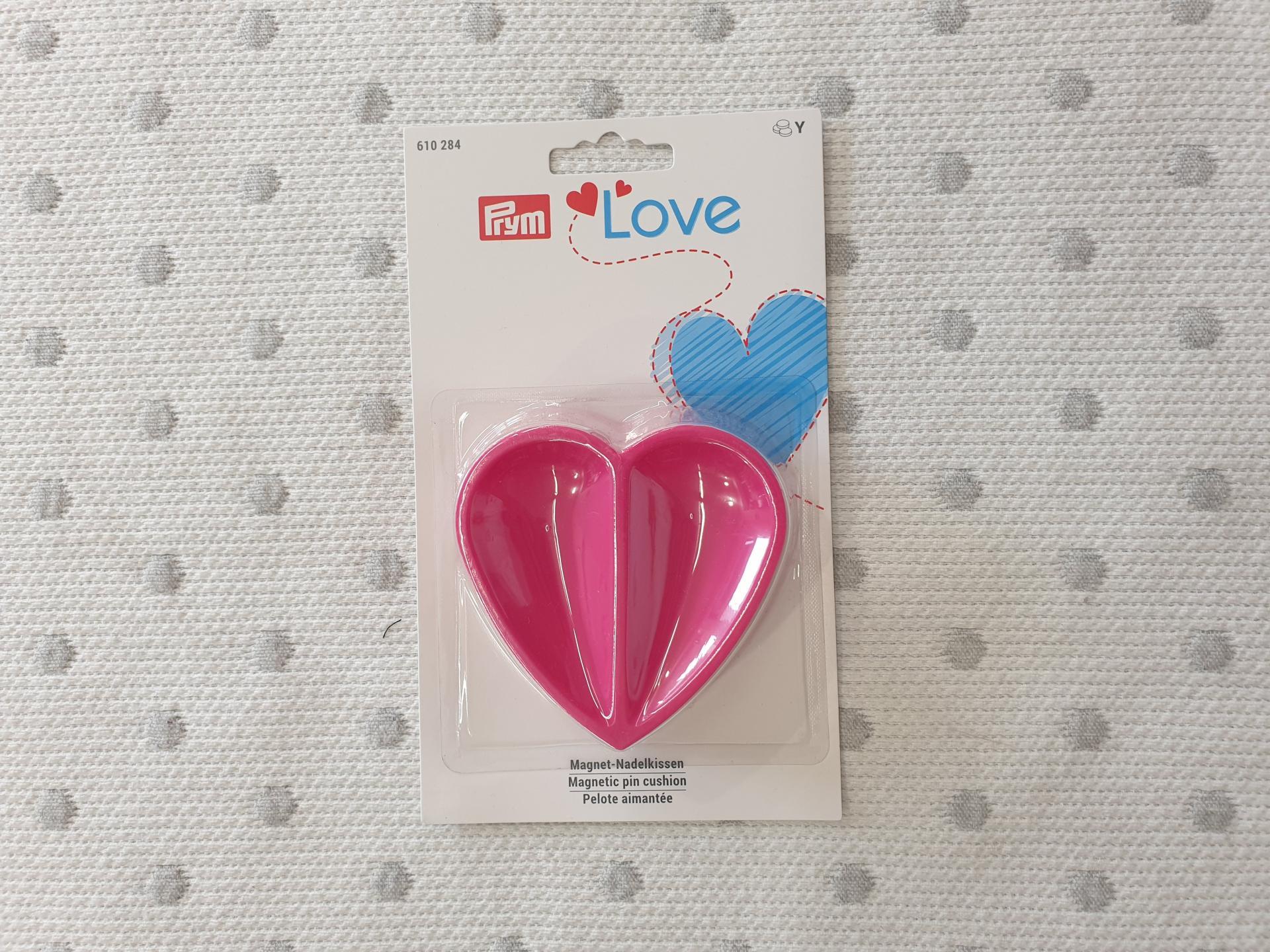 Alfiletero Imantado Corazón Pink