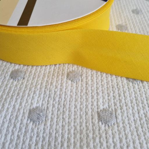 Bies de Algodón 3cm - Amarillo 66