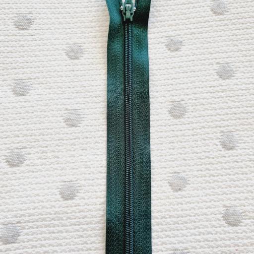 Cremallera Cerrada Verde Botella 749