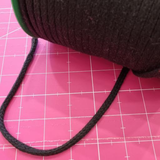 Cordón Acrílico 5mm Negro