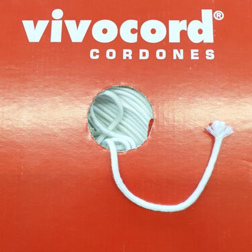 Cordón vivo algodón 3mm - Vivocord