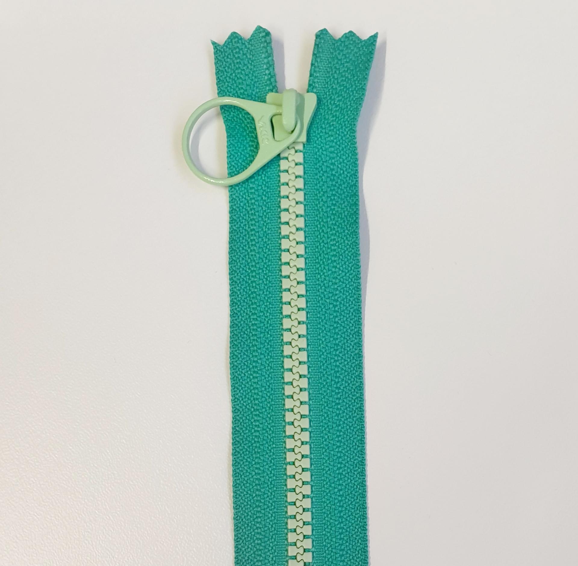 Cremallera Bi-Color 20cm Verde/Mint