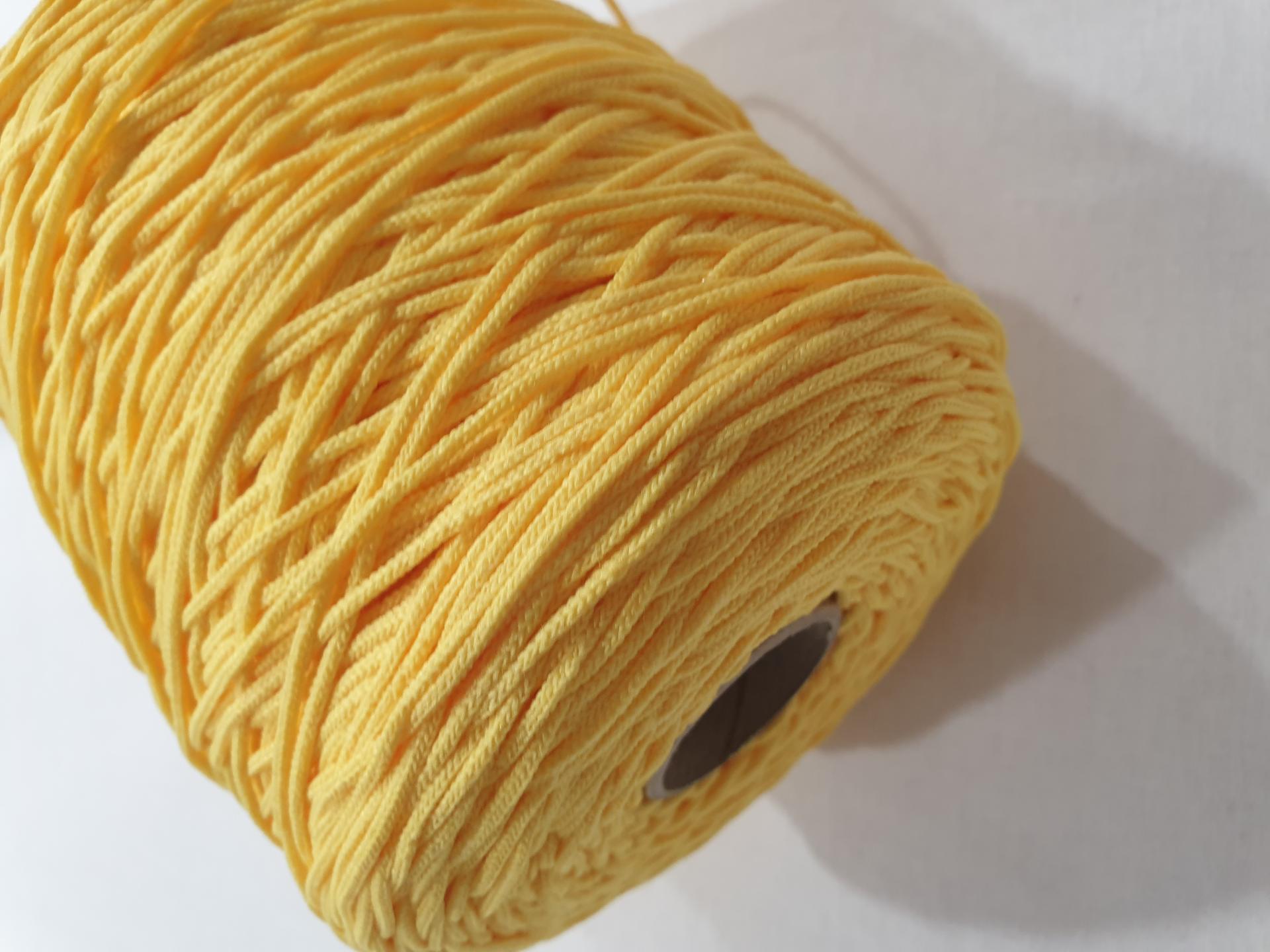 Goma Redonda Suave - Amarilla