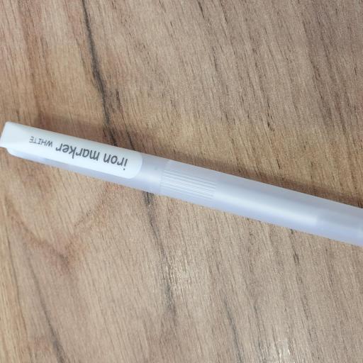 Marcador de tela blanco - Iron Marker [1]